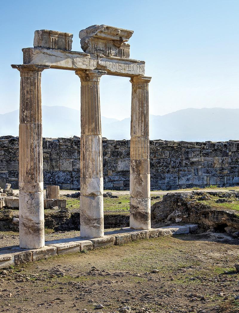 Античные руины под Денизли.