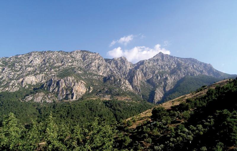 Созерцание бесконечно красивых гор Денизли успокаивает лучше седативных средств.