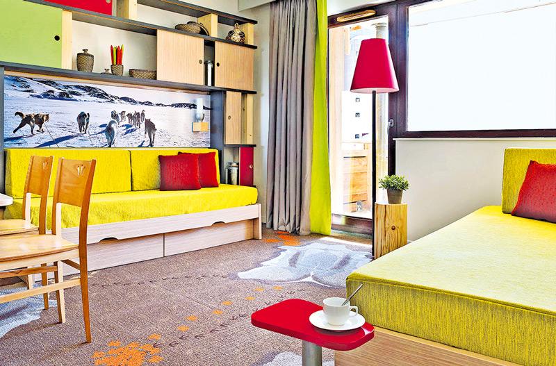 Так выглядит номер в апарт-отеле Pierre & Vacances Residence Electra.
